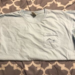 Comfort Colors Phi Mu Family Weekend Shirt (XL)